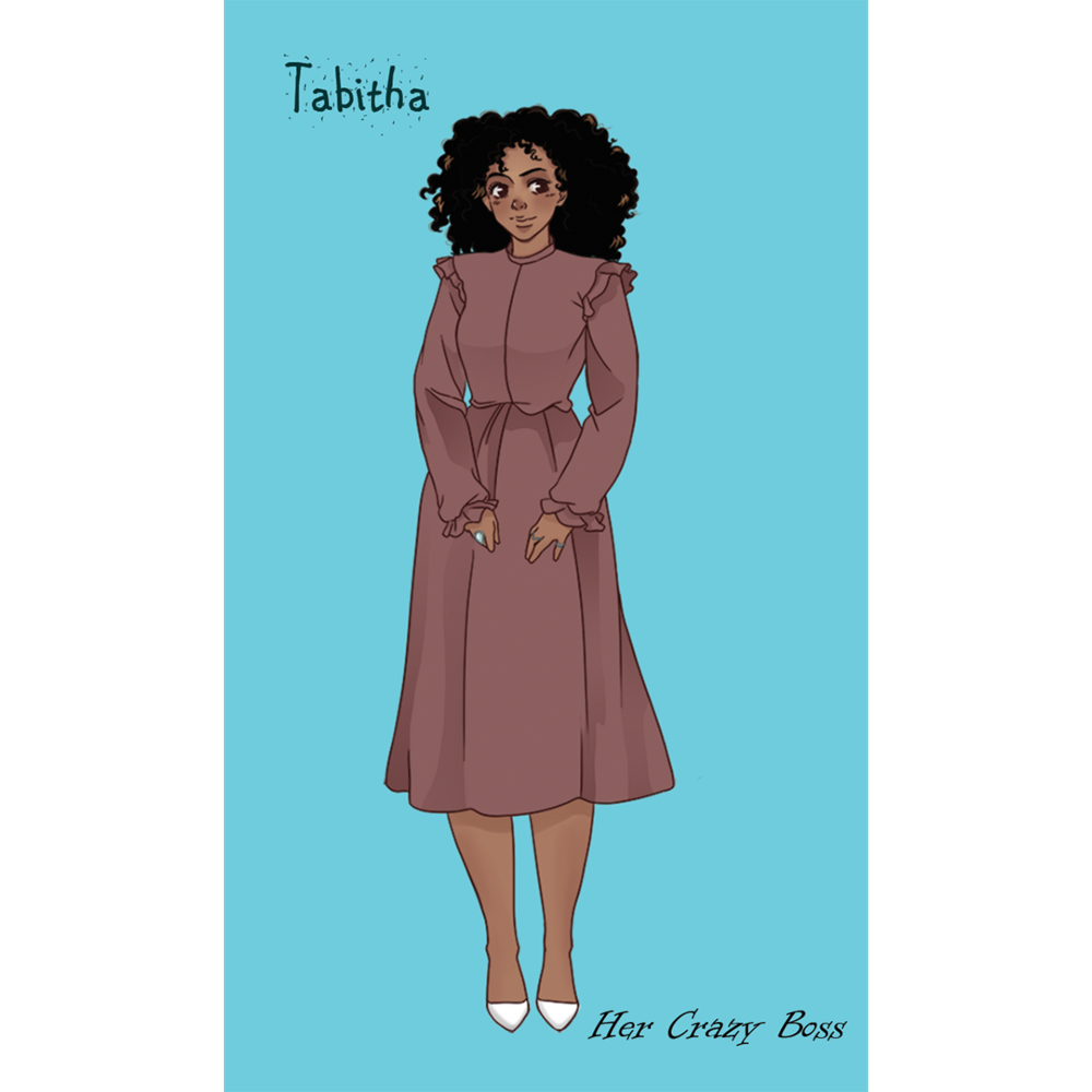 Tabitha's purpose in life has found her. Again. - What happens when the last thing you want to do is the only thing you seem to be good at?