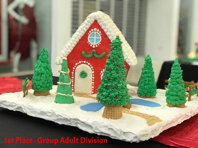 Walking in a Winter Wonderland - Group Adult Division     Created by: Kristen and Rusty Smarr