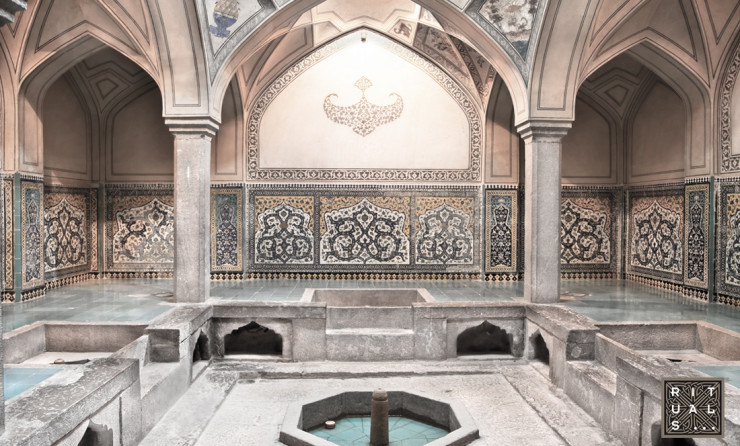 The hammam, or Turkish bath, is the Islamic variant of the Roman bath, sauna, or steam bath.
