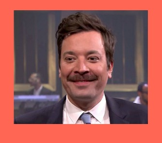 Jimmy Fallon's Mustache - I have a love/hate relationship with his lifestyle choices regarding his facial hair. #DadStache