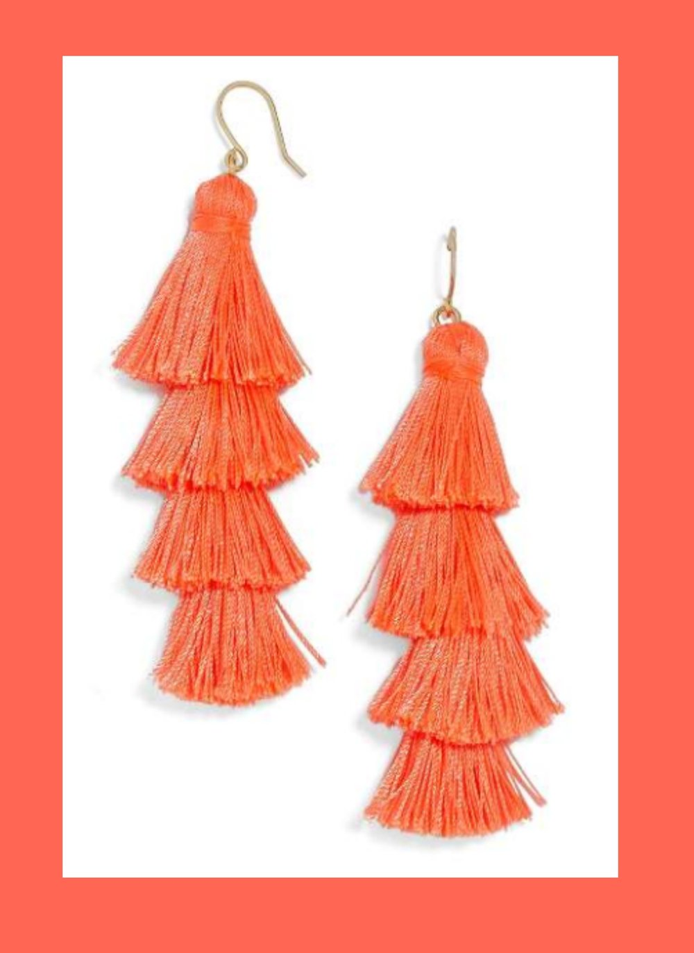 Baublebar Earrings - Things I'm obsessed with: anything fringe, especially Baublebar earrings! I'm a bit of a shopaholic.