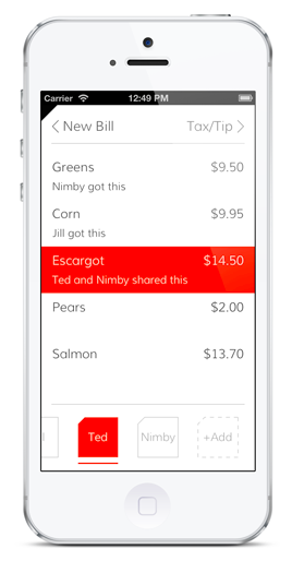 Tab - This app is such a game changer when going out with big groups. Simply take a photo of your bill and assign each order to a specific person. Add tax/tip and then Venmo your share! No more splitting checks the hard way!