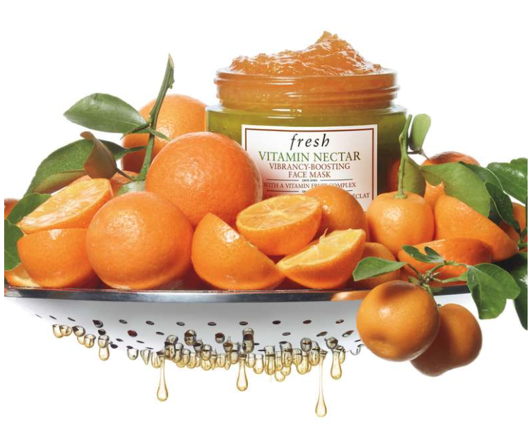 VITAMIN C FACE MASK - I am a face mask guru and this Vitamin C face mask from Fresh is my go to. If you want a mask that's brightening, nourishing, and deliciously fruity, this one is definitely worth checking out!