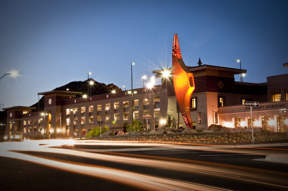 El Paso is our laboratories home, and UTEP is the Alma Mater for many of our staff.
