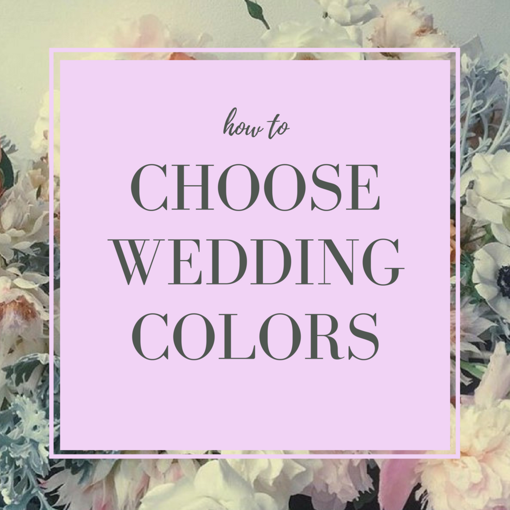 How To Choose Wedding Colors Lilac