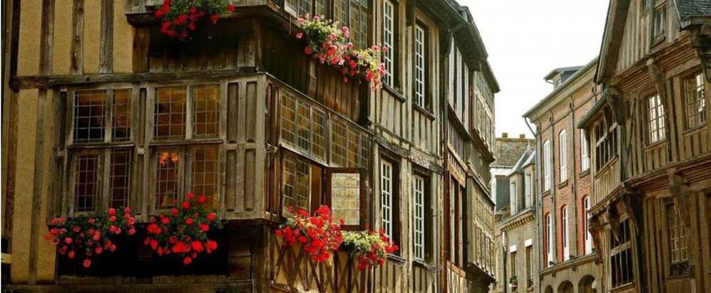 The best time to visit Dinan is July when they are celebrating the Fête des Remparts.