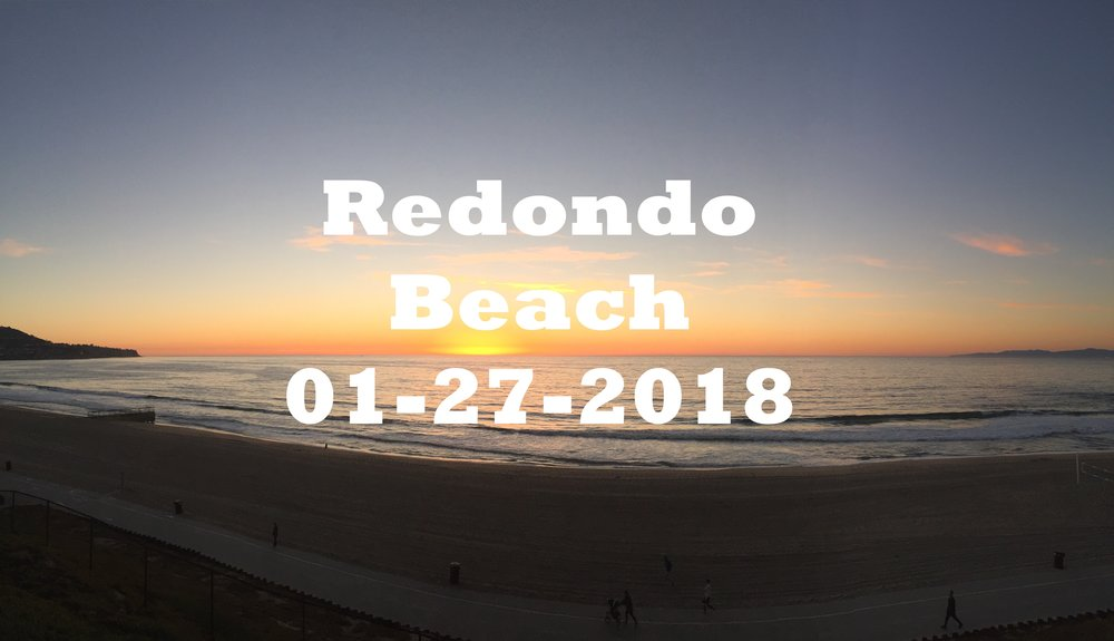 Redondo Beach Sunset Time Lapse