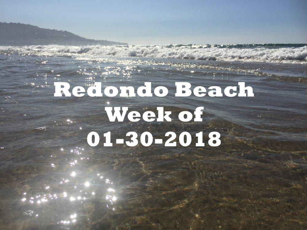 Redondo Beach, CA Waves and Sunsets