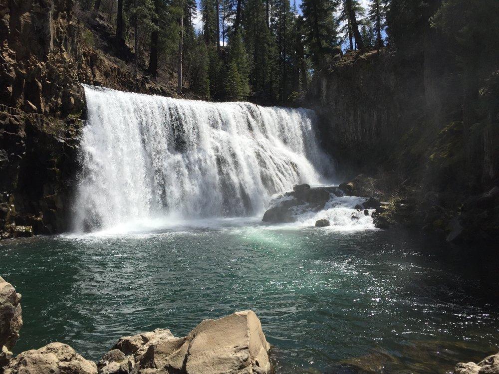 McCloud Falls Middle Falls 2