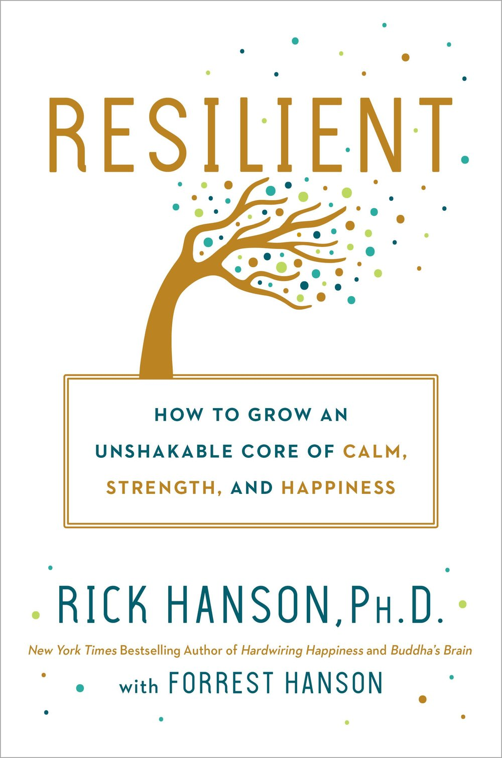 Resilient Book Cover by Rick Hanson