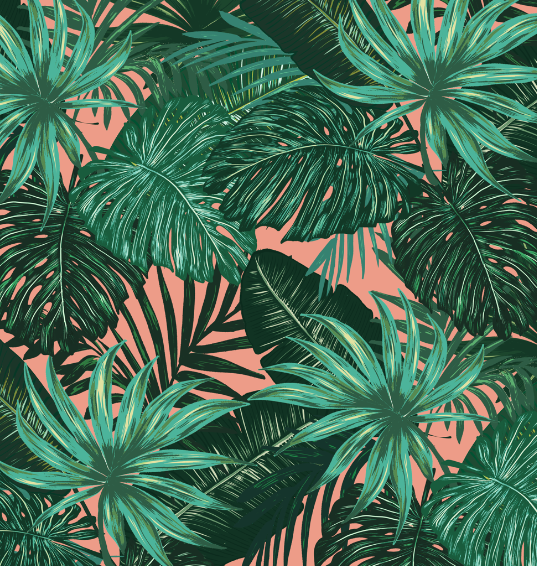 TROPICAL PATTERN  - GO TO THE COLLECTION