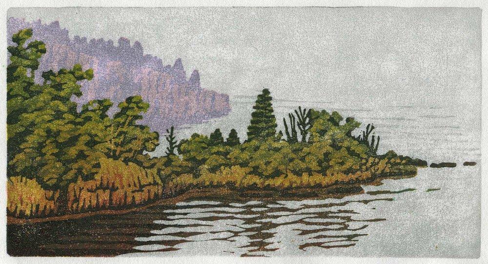 Peninsulas at Tettegouche