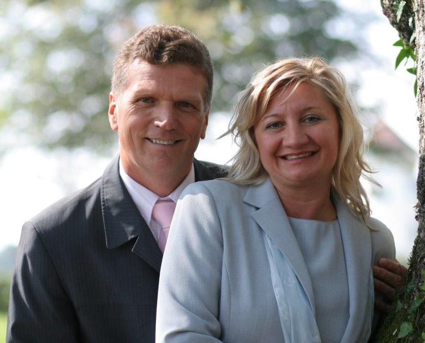 Church Partner, Pastaor Zvonko and Dubravka Turinski of Ljubljana Evangelical Christian Church