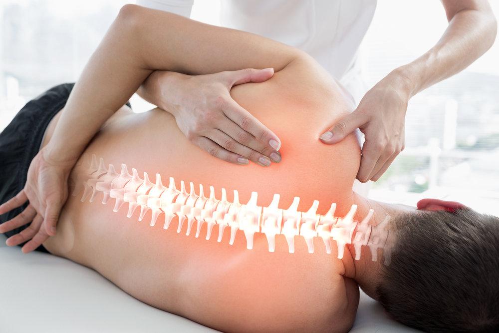 Rücken-und Nackenschmerzen