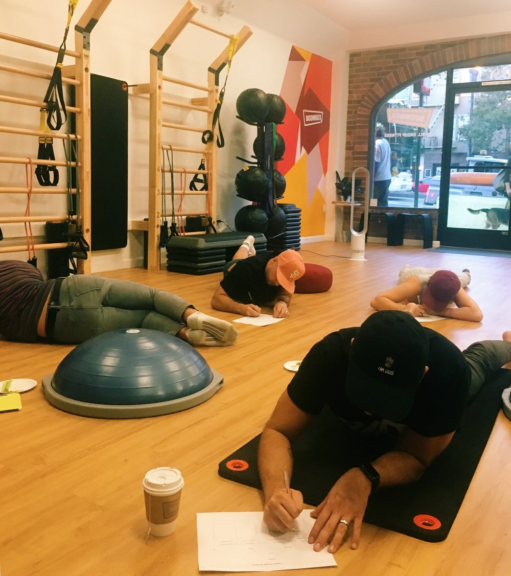 """Workshop: """"Body Image and Emotions @ The Boombox Studio"""" 