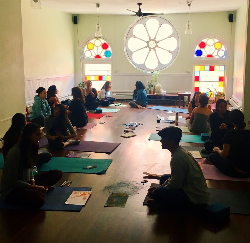 """Workshop: """"Exploring Self-Love via Feminine Sexual Energy and Creativity / with Qi-Gong and Expressive Arts"""" 