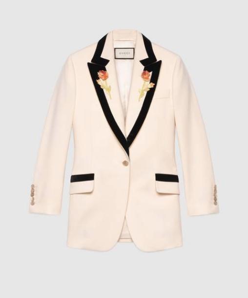 Gucci - Embroidered Blazer