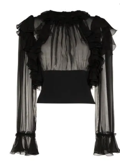 Chiffon Blouse - Dolce & Gabbana