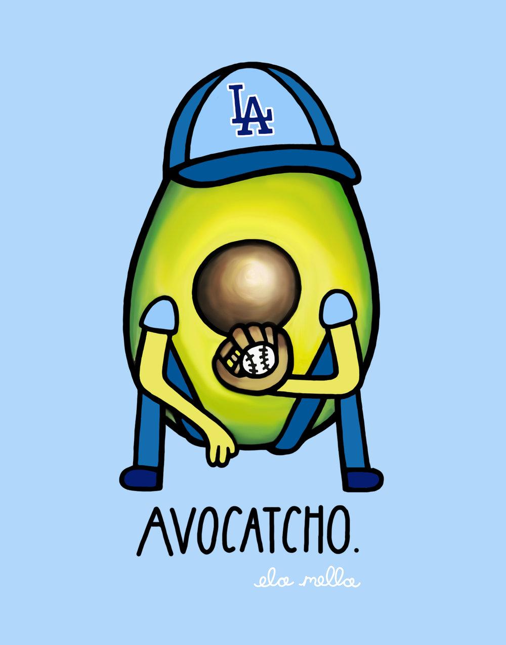 Avocatcho Dodgers 5x7.jpg