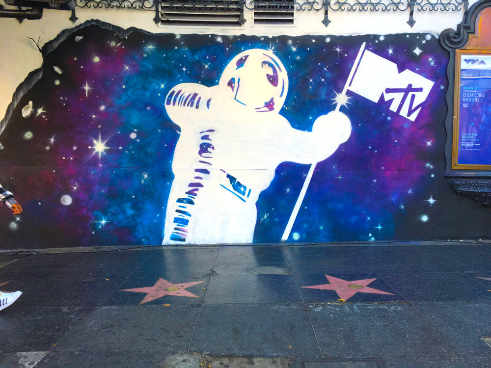 MTV VMA's - Hollywood, CaliforniaCollaborative mural led by OutersourceLearn more2017