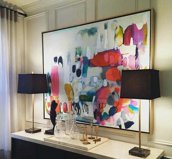 Claire desjardins work wth interior design by Victoria Leach with Timothy Johnson design