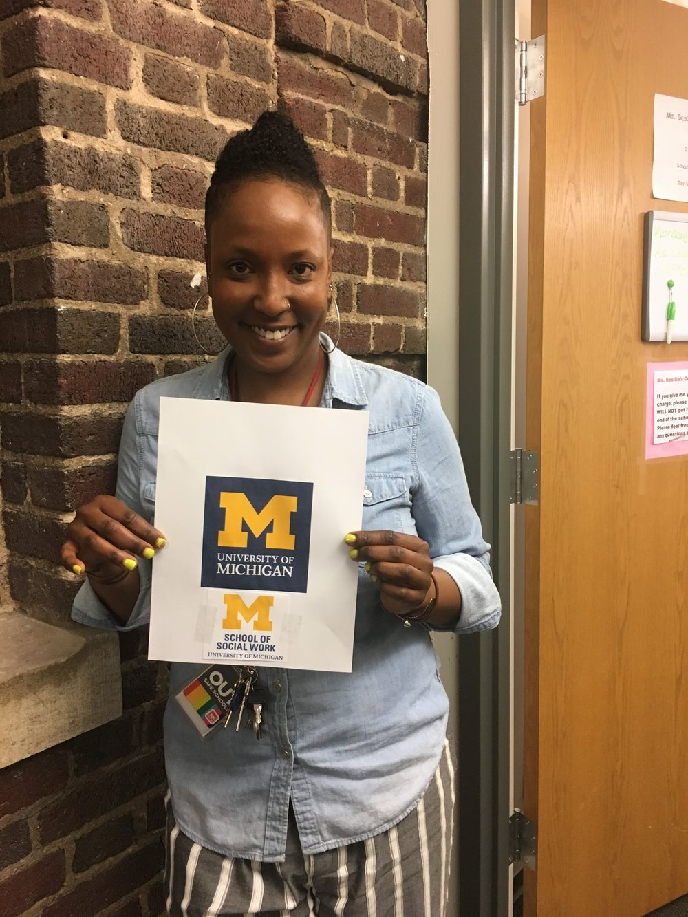 Proud University of Michigan Alum!
