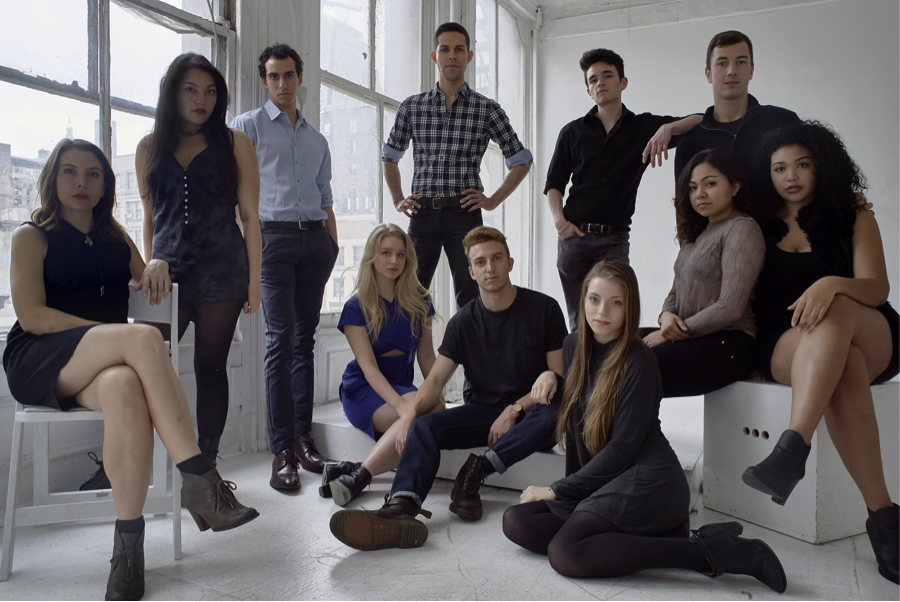 The cast of  Bound: The Series , 2016.
