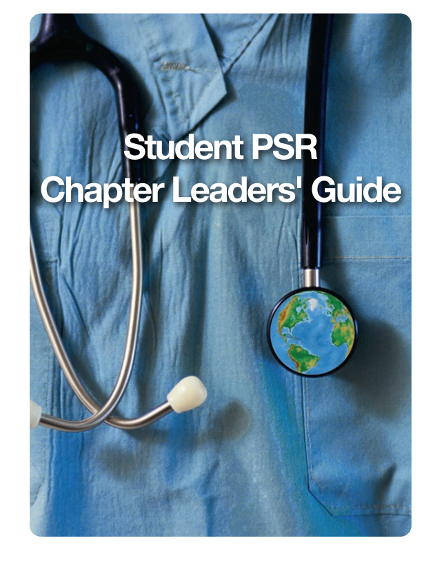 SPSR Chapter Leaders' Guide -