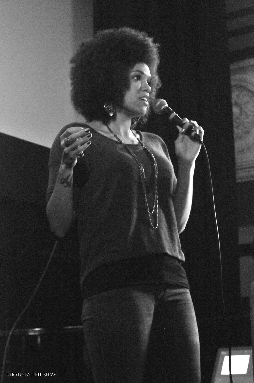 Walidah imarisha - Writer - Educator - Poet