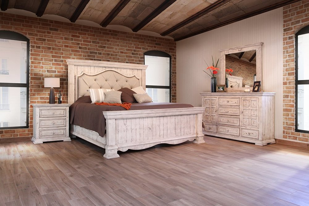 Bedroom Furniture - Armoires, Beds, Chests, Dressers, Nightstands, Mirrors
