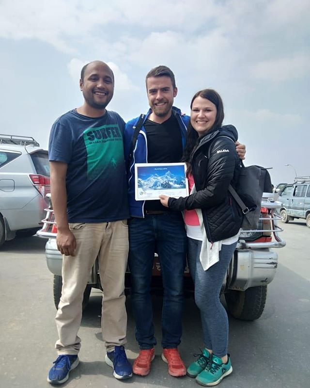 Check out these two currently enjoying their trip to Nepal, with our tour guide Rakesh! Some highlights include a flight over the Himalayas, volunteering with a local charity, and of course experiencing the amazing culture the country has to offer. For those of you who would like to do your own trip with friends or family, we also offer custom trips. So whether you're looking to go at a different time of the year, or have something different in mind to what you see on our itinerary, drop us a message and we can put something special together just for you! Link in bio ☝🏼☝🏼 . . . . . . . . . . . . . . #thevacationproject #makeyourtravelcount #seenewplaces #conscioustravel #travel2019 #curatedtrips #volunteerabroad #travelandbeyond #nepal #travelnepal #adventuretravel #customtrips #meaningfultravel #curatedtravel #coupletravel #travelagency #travelguide