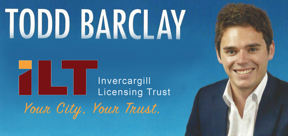 Invercargill Licencing Trust is pleased to welcome local-boy-made-good Todd Barclay as its new Marketing Manager.