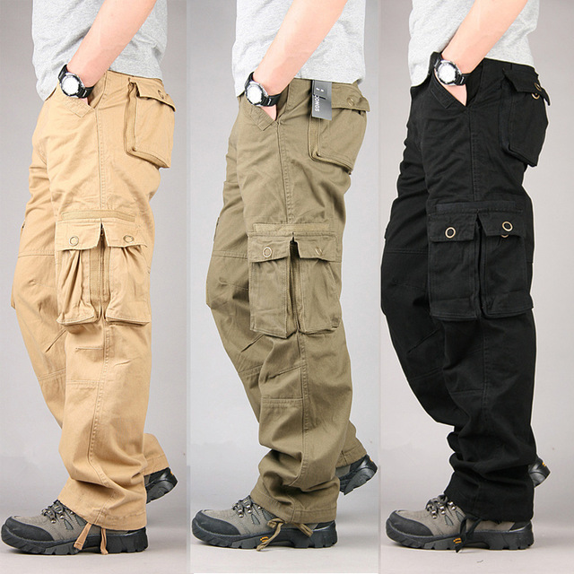 Tactical and Practical, thank craft beer for making cargo pants popular.