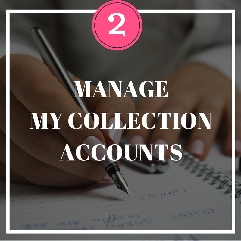 Copy of Manage My Collection Accounts