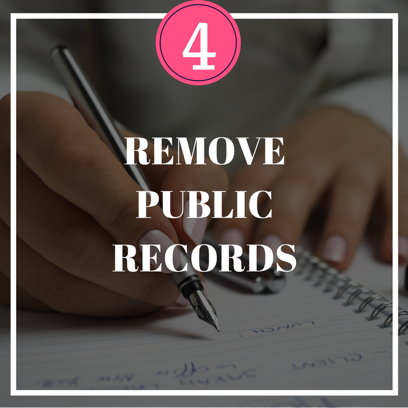 Remove Public Records