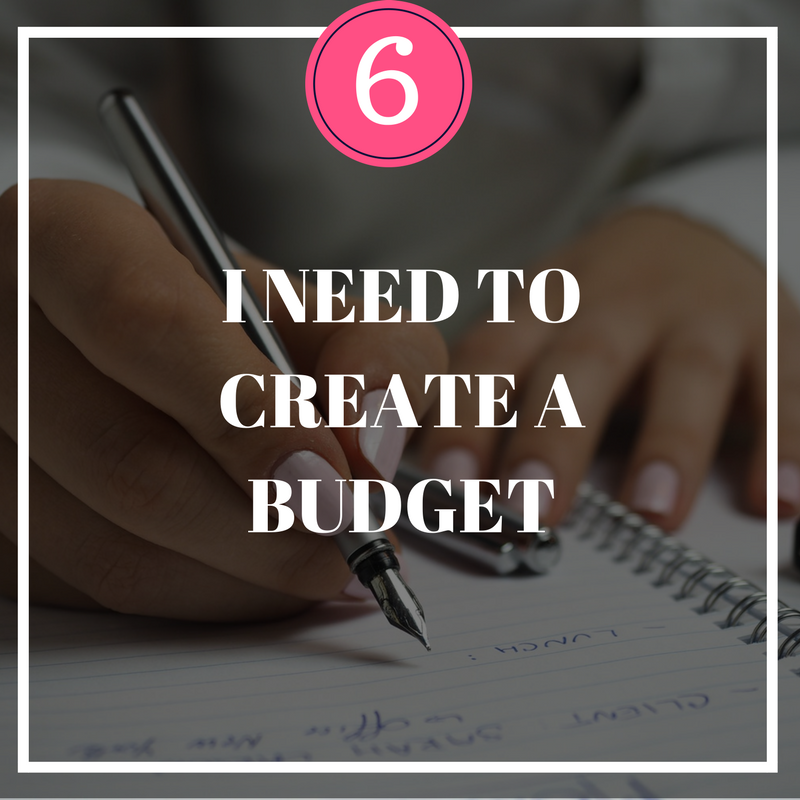 Designate Your Dollars Budget Worksheet