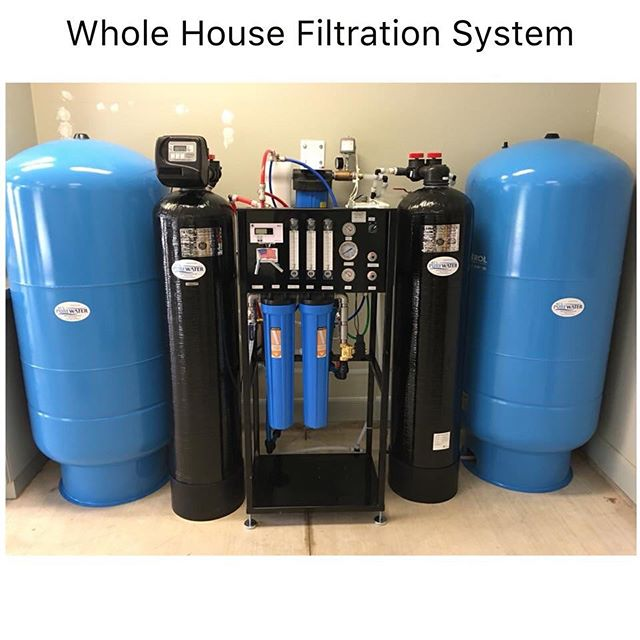 Another whole house system being installed like the one below. BCS residents are really enjoying their healthy water and telling all their friends. All glory to God for the opportunity to help and serve others. We love meeting new people.  Have a fantastic weekend!  #hydrationnation #knowbetterdobetter