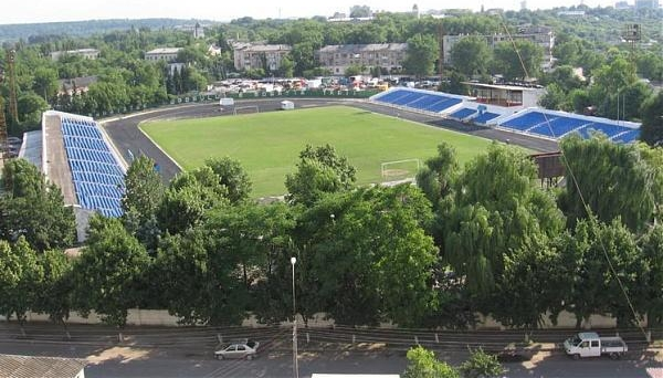 Stadionul Orășenesc, home to Zaria Balti in Moldova.