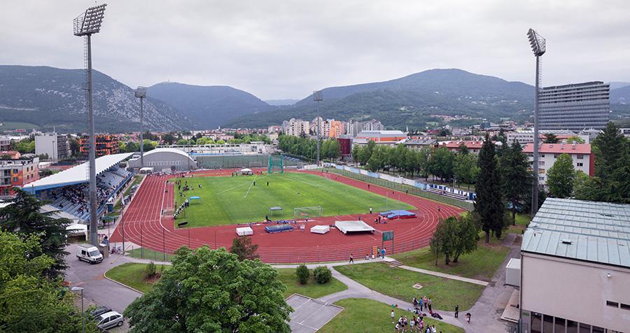 Nova Gorica Sports Park, home of Slovenian outfit Nova Gorica.