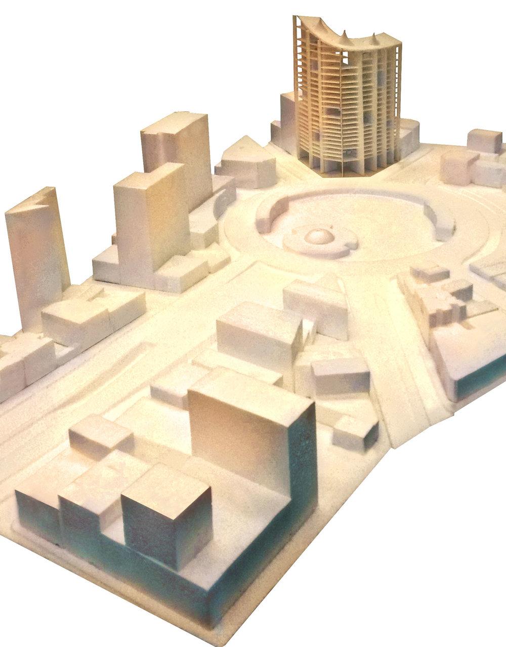1:250 Site model