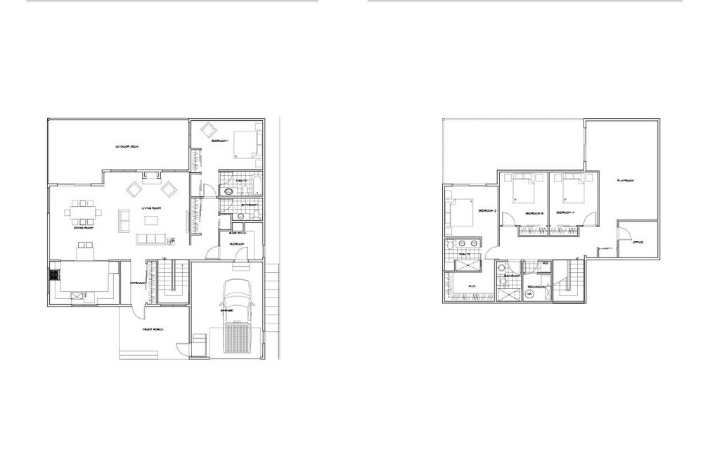 Early floor plans