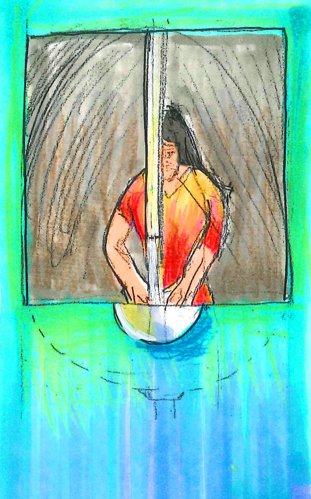 Overhead Handwash Detail (Sketch)