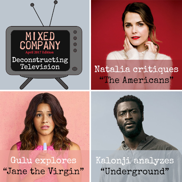 """Cover art from our """"Deconstructing Television Issue"""""""
