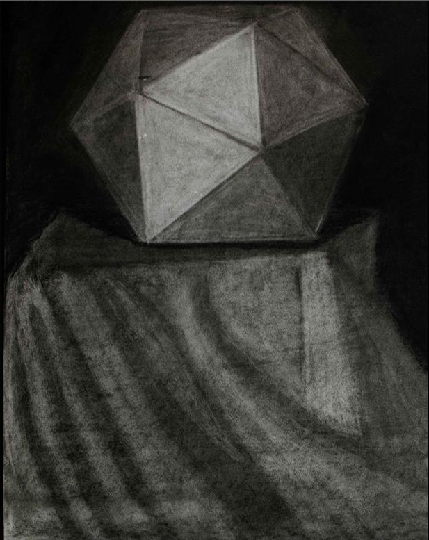 "Value Drawing   Soft Charcoal    36"" x 24"""