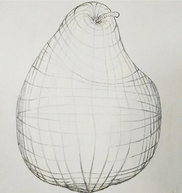 "Contour Drawing    24"" x 18"""