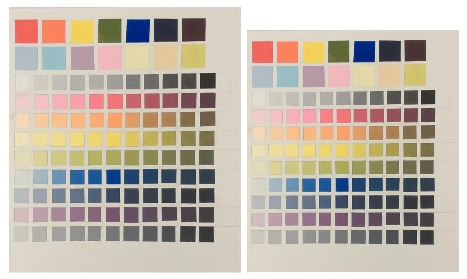 """Paint Squares    28"""" x18"""" and 24"""" x 18"""""""
