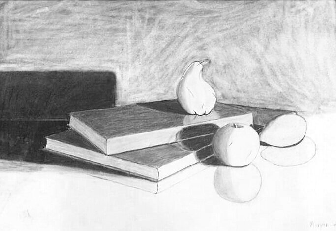 "Perspective Still Life   22.5"" x 30"""