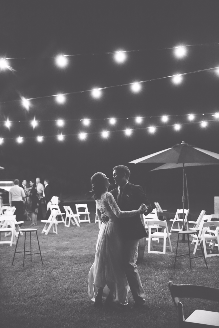 Festoon Lights // Photo by Clancy Job Photography