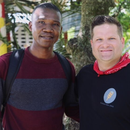 """Haiti needs hearts that understand what it means to serve God in all the work they do. This is my prayer.""  - Pastor Rodney"