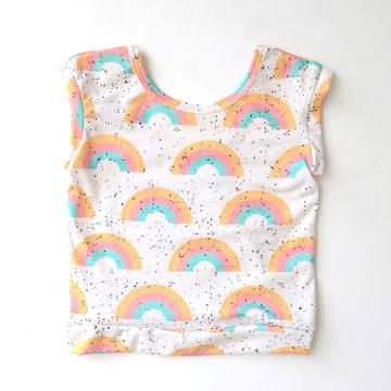 Rainbow Xaria Top